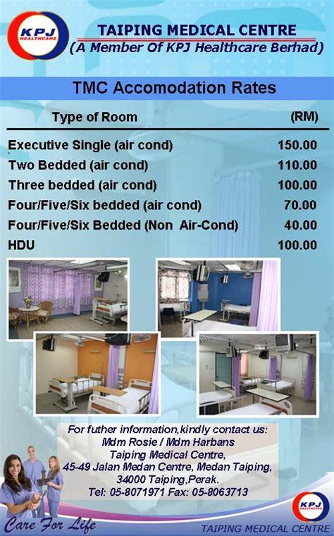 Room Rate Kpj Healthcare Berhad