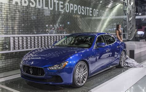 ghibli maserati blue 2014 maserati ghibli priced from 65 600