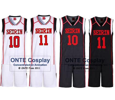 kuroko no basket jersey design cartoon basketball jersey reviews online shopping