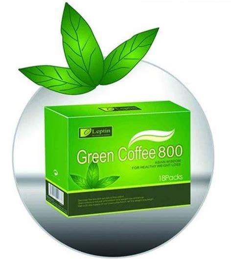 Coffee Green 800 slimming coffee leptin green coffee 800 products
