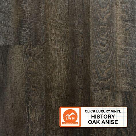 vinyl plank history oak anise lw mountain inc