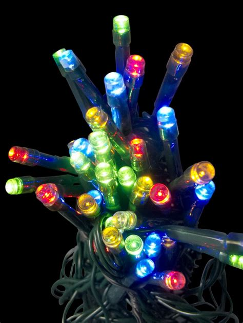 how to connect string lights 100 cool white lighting