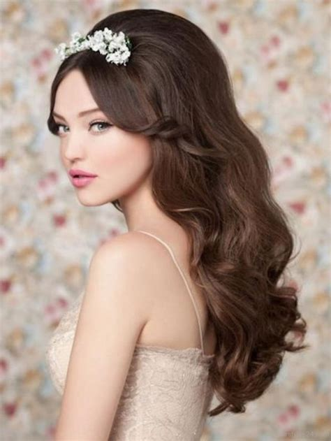 Vintage Style Wedding Hair by Wavy Retro Hairstyles 2016 Haircuts Hairstyles 2017 And