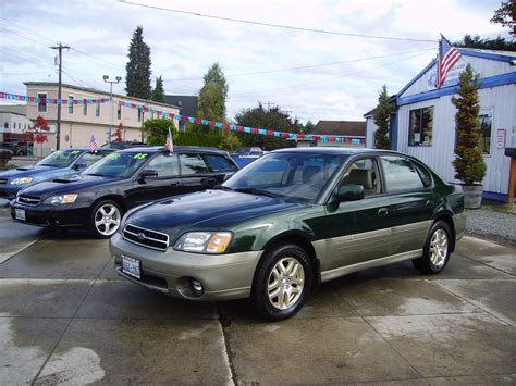 subaru awd sedan 2000 subaru outback limited sedan awd