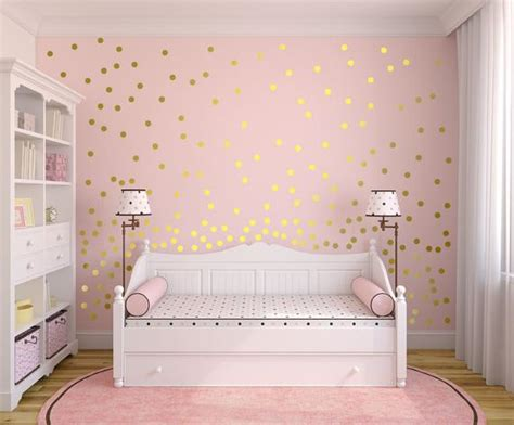 polka dot wall decals for rooms metallic gold wall decals polka dot wall sticker decor
