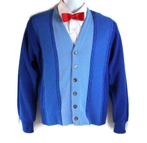 Sweater Proline 2 Zalfa Clothing 60s 70s sweater mens sweater blue cus sweet paul magazine s