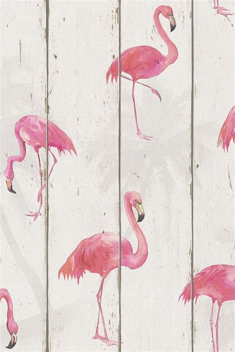 pink wallpaper decor fabulous flamingo on wood panelling wallpaper design