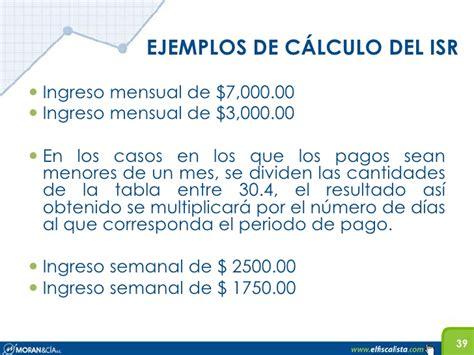 ejemplos calculo anual isr salarios 2015 ejemplo de calculo anual de sueldos y salarios 2015