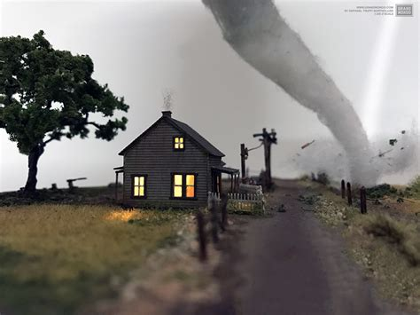 dorothy s house wizard of oz wizard of oz diorama quot there s no place like home quot on behance