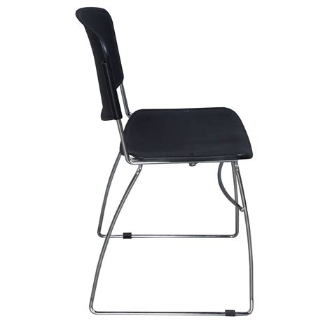 Used Stacking Chairs by Novaiso Used Stack Chair Black National Office