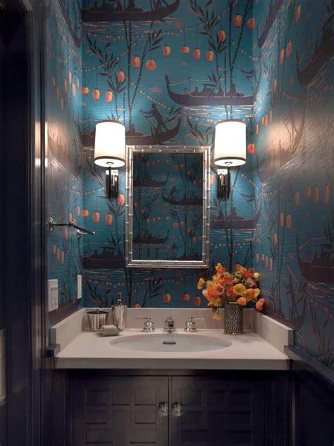 unique powder rooms  inspire   remodeling