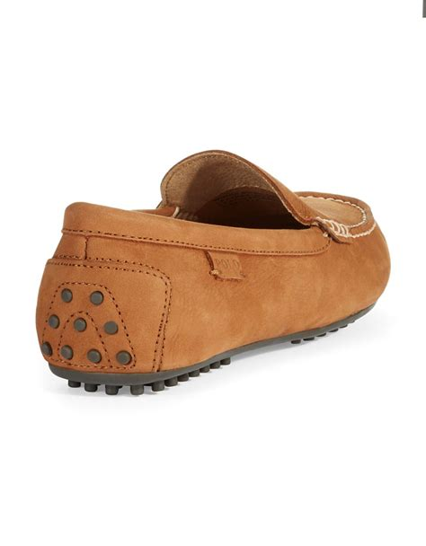 brown polo loafers polo ralph woodley loafers in brown for polo