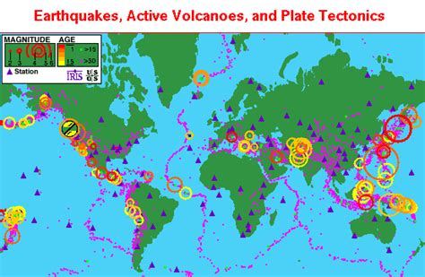 recent earthquakes map roney recent earthquakes map