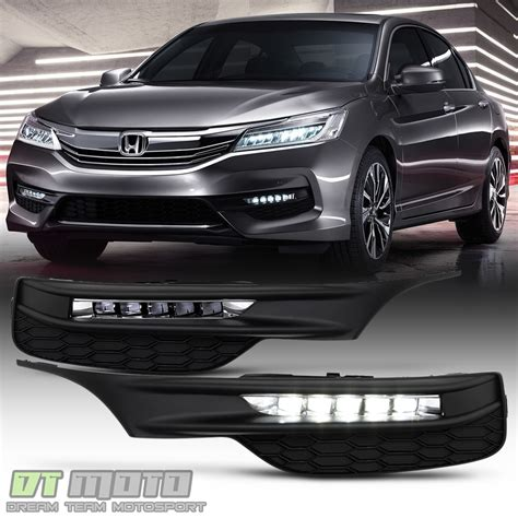 For 2016 2017 Honda Accord Sedan Led Bumper Fog Lights
