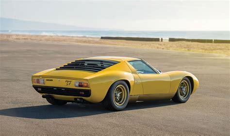 1971 Lamborghini Miura Sv Rm Arizona 2016 1971 Lamborghini Miura P400 Sv