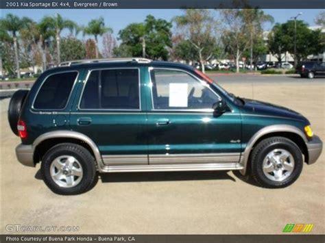 2001 kia sportage ex 4x4 in evergreen photo no 40105507