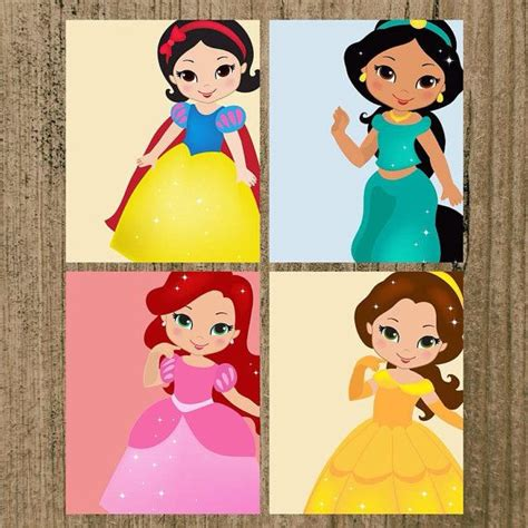 disney princess nursery decor disney princess nursery prints set of 6 8x10 quot wall decor