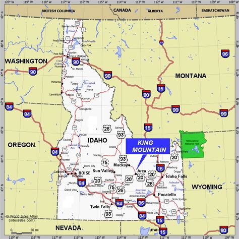 maps of idaho idaho map maps