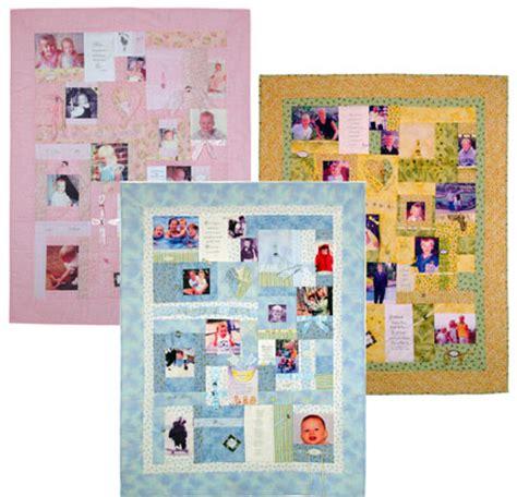Memories Quilt by Free Pattern Treasured Memories Photo Quilt