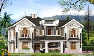 house plans colonial colonial style house in kerala kerala home design and