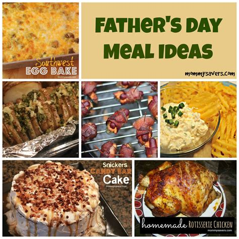 father s day meal ideas mommysavers