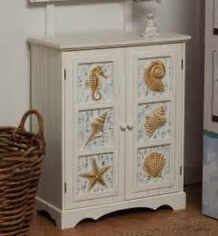 Nautical Bathroom Accessories by Seashell 2 Door Cabinet