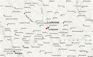 map of lucknow city lucknow location guide