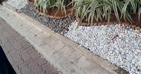 Mesin Potong Rumput Tali Senar susunan batu untuk pemanis taman o2 fresh