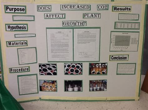 Science Fair Poster Exle Science Home
