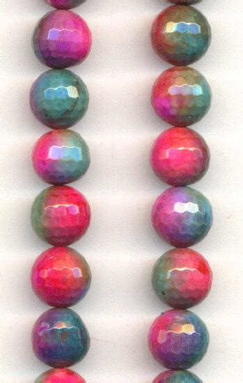 466 Dyed Agate Cutting 10mm 10mm faceted dyed agate jan s jewelry supplies