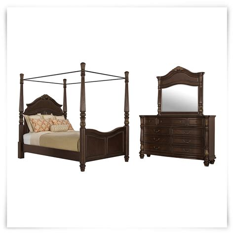 city furniture tradewinds tone woven canopy bedroom