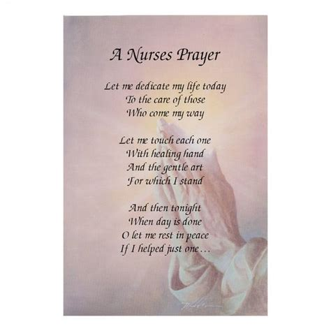 e bid a nurses prayer inspirational poem for the nursing and