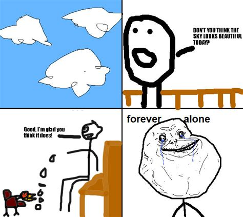 Forever Alone Meme Origin - image 67556 forever alone know your meme