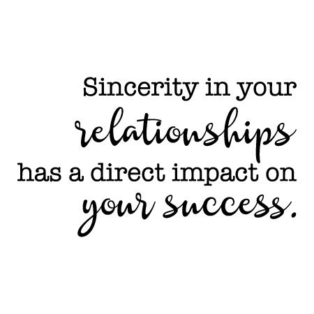 sincerity   relationships wall quotes decal wallquotescom