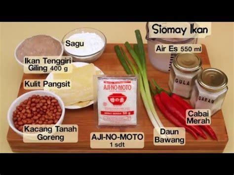 Siomay Umami Isi 15pcs cara membuat bakpao telo resep bakpao ubi ungu funnydog tv