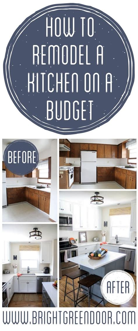 how to renovate on a budget remodel a kitchen on a budget