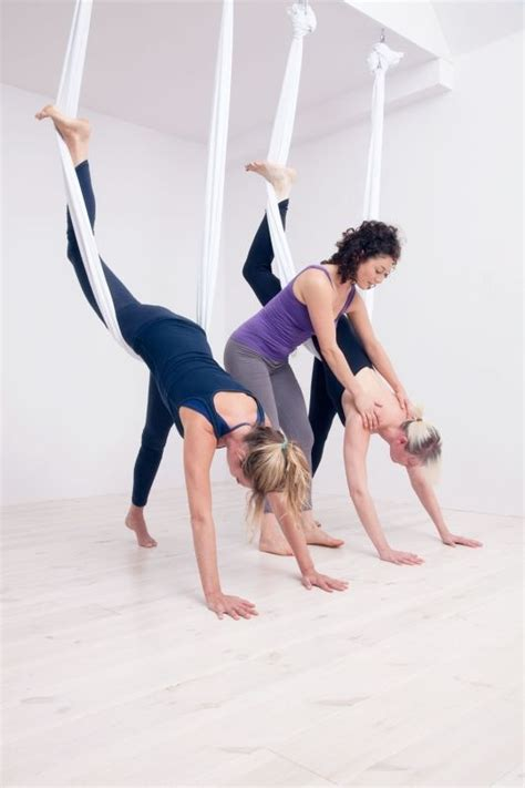 yoga swing poses 98 best images about aerial yoga yoga swing on pinterest