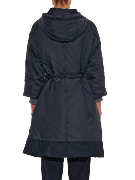 Maxmara Choco Black Navy s max mara soirc reversible coat in blue lyst