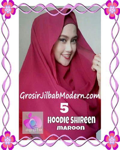 Hoodie Shireen Godir Grosir jilbab instant hoodie shireen original by apple brand no 5 maroon grosir jilbab