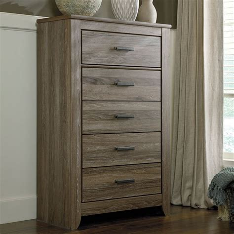 ashley zelen chest of drawers zelen five drawer chest signature design by ashley