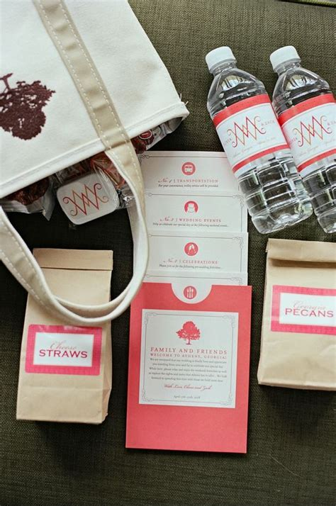 diy wedding welcome gift bags le quot welcome bag quot de votre c 233 r 233 monie la 239 que myceremonie