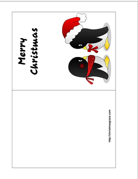 Printable Christmas Cards Penguin | christmas archives page 6 of 7 print this today more