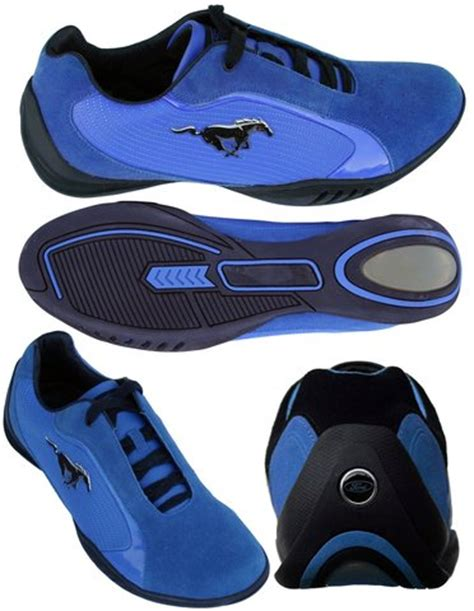 ford racing shoes ford mustang leather driving shoes blue black wr showroom