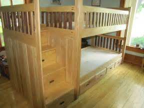 Custom Made Bunk Beds Custom Bunk Bed By Weber Wood Designs Custommade
