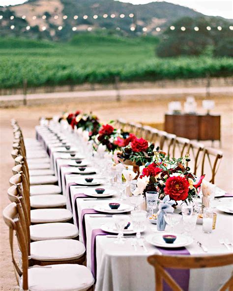 Wedding Utilities Best Wedding Reception Table 42 Stunning Banquet Tables For Your Reception Martha