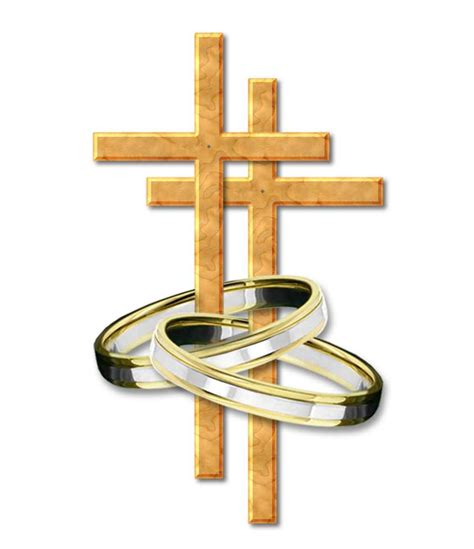 Wedding Cross Clip by Ring Clipart Catholic Wedding Pencil And In Color Ring
