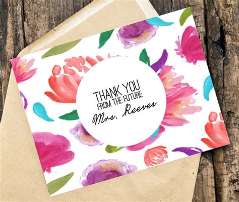 thank you card bridal shower template 15 bridal shower thank you cards psd eps ai free