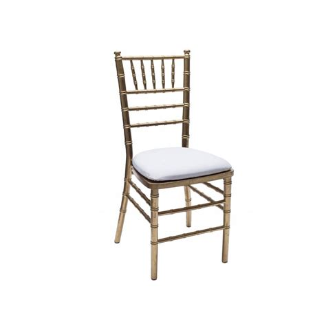 Rental Chairs by Baker Rentals Gold Chiavari Chair Rentals