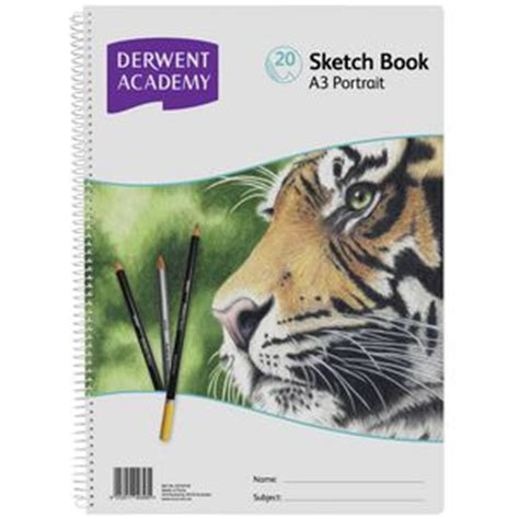 sketch book a3 q533 derwent academy a3 sketch book portrait officeworks