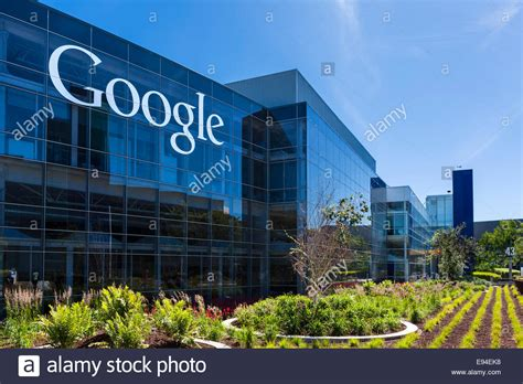 google office california google head office cus mountain view californias usa